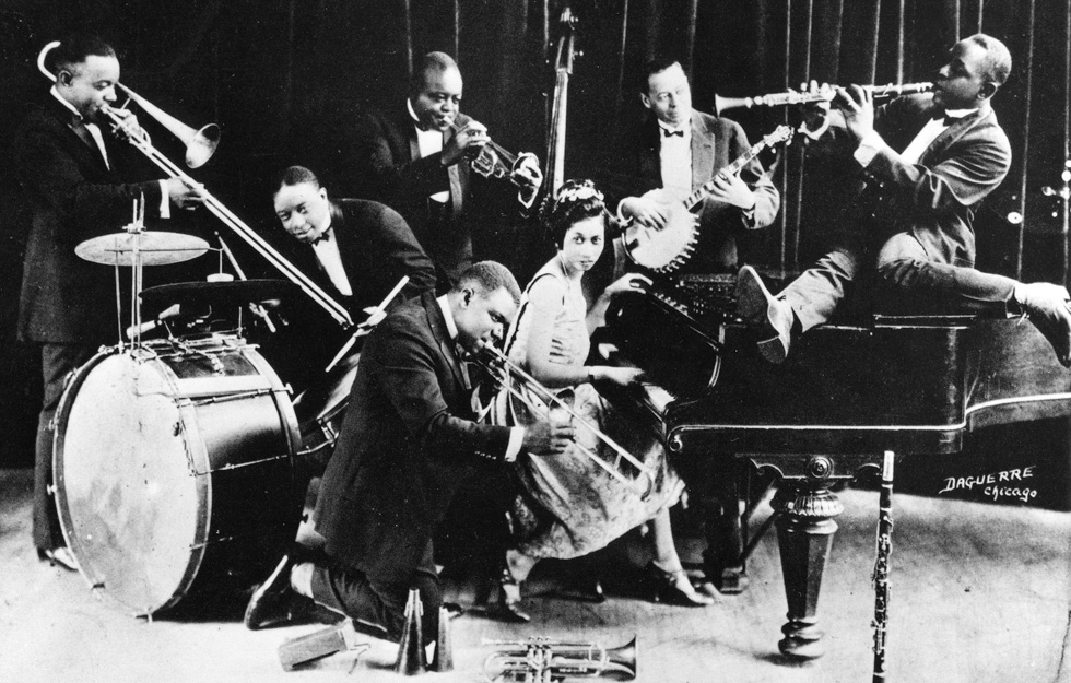 Louis Armstrong and band